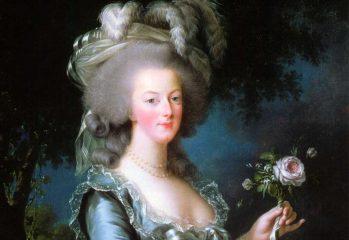 rutina de belleza de María Antonieta
