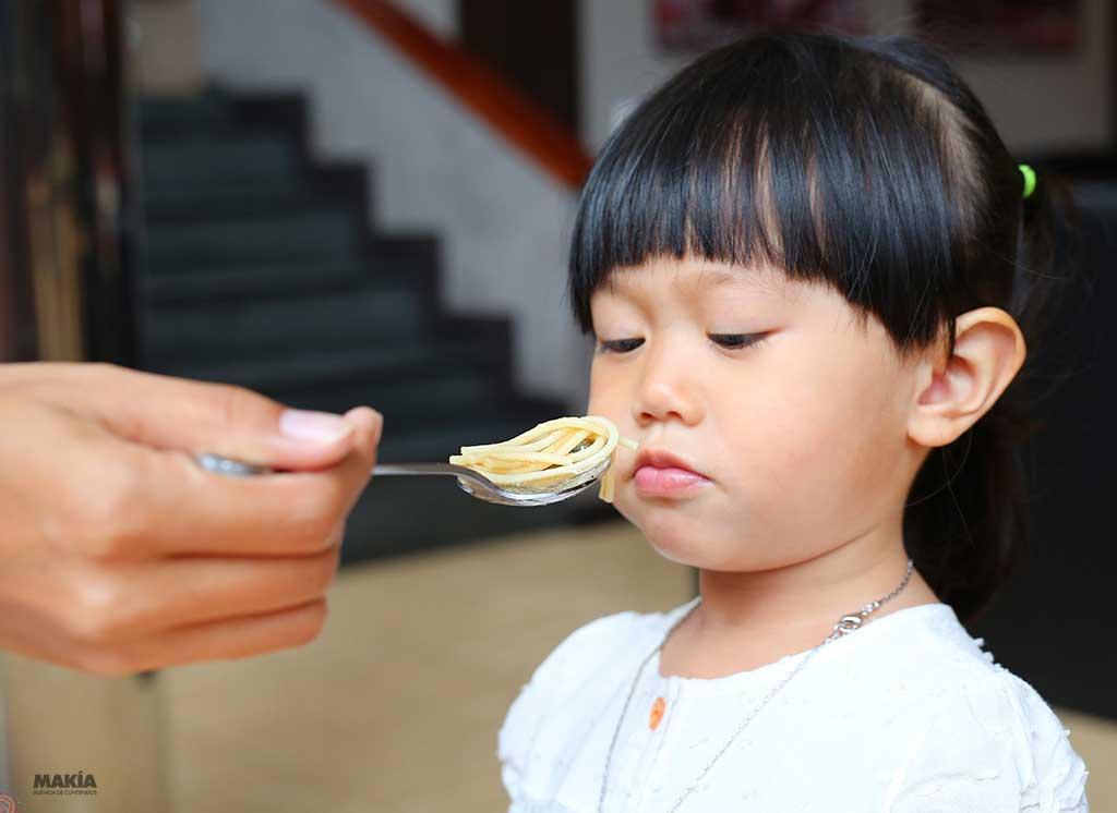 falta de apetito en los niños
