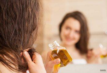 aceites naturales para hidratar el cabello maltratado