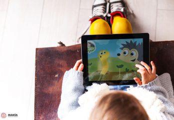 desconectar a los niños de la tecnología