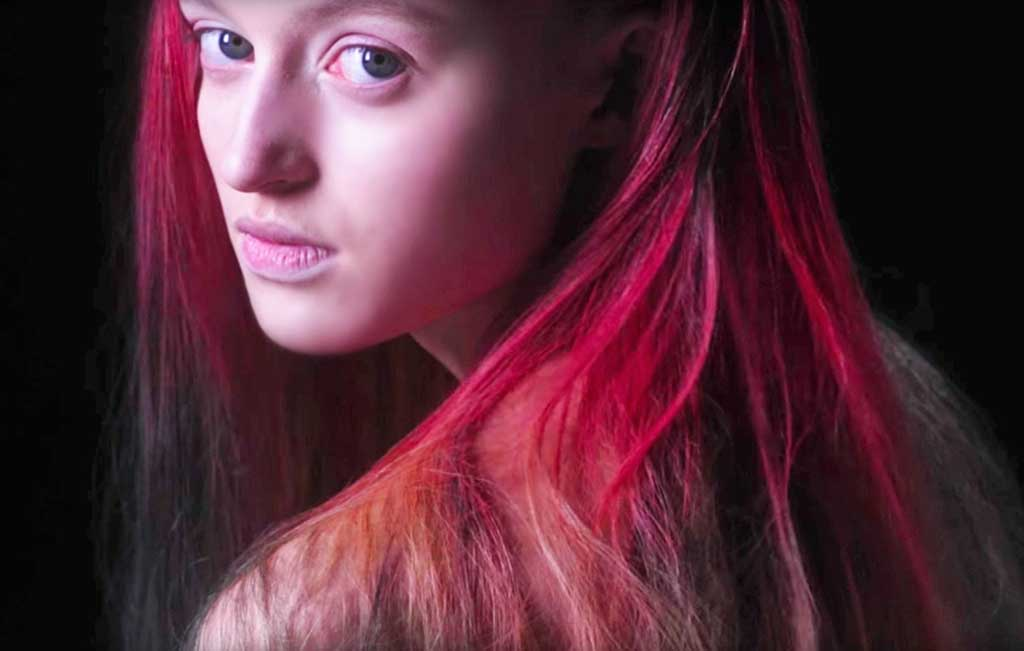 Laura Browker tinte, tinte que cambia de color
