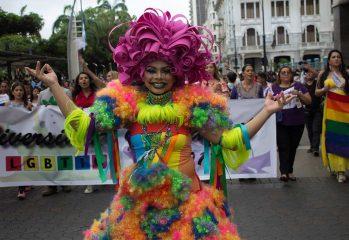 marcha de orgullo LGBTI