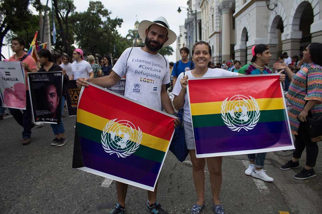 marcha del orgullo LGBTI en Guayaquil