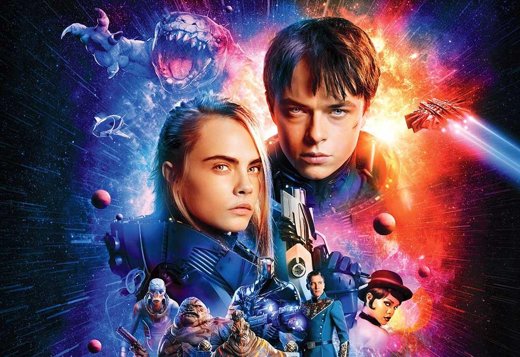 valerian y la ciudad de los mil planetas película