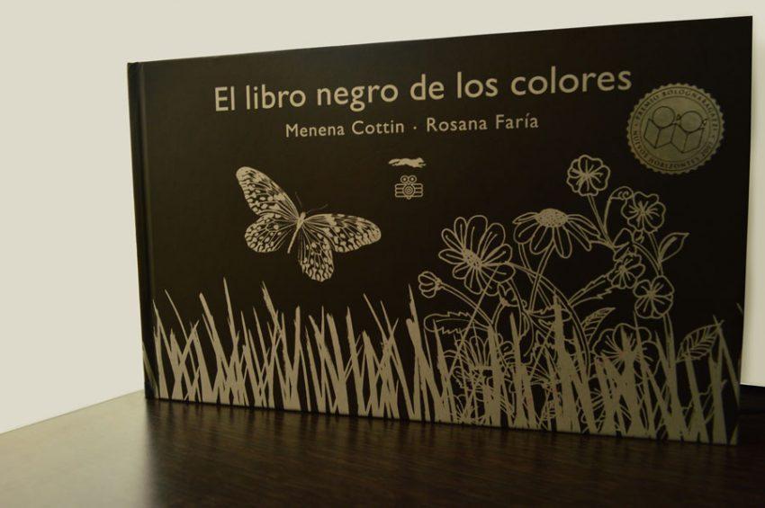 El libro negro de los colores quiere que cierres los ojos - Makía