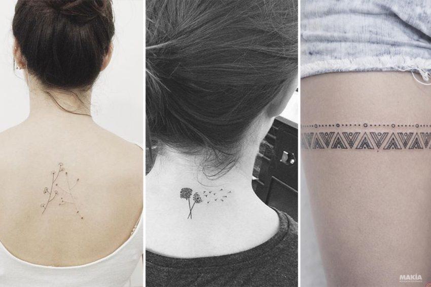 Hermosos Tatuajes Minimalistas Para Mujeres Y Donde Colocarlos Makia