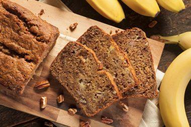 cómo hacer pan de banano