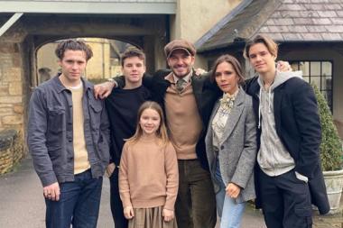 El nuevo proyecto de Netflix: La vida de los Beckham